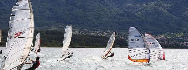 Windsurf sul lago di Como